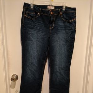 LEI Low rise Bootcut Jeans